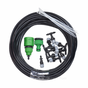 15m DIY single outlet fogger set for greenhouse micro irrigation system