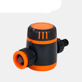 Mechanical running 2 hour water timer no need battery in orange