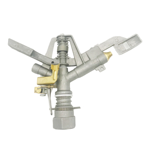 Full circle operation 1'' aluminium alloy and brass impact sprinkler
